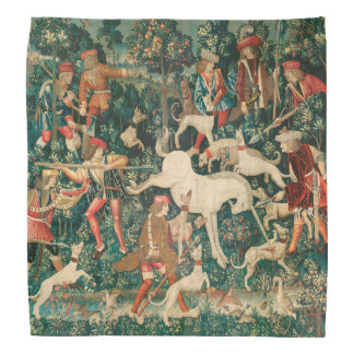 UNICORN DEFENDS ITSELF,Other Animals Green Bandana