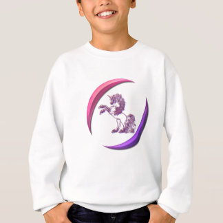 Unicorn Design Girl's Sweatshirt