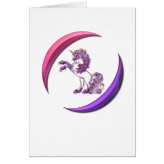 Unicorn Design Greeting Card