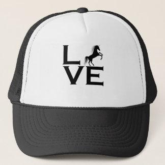 unicorn design trucker hat
