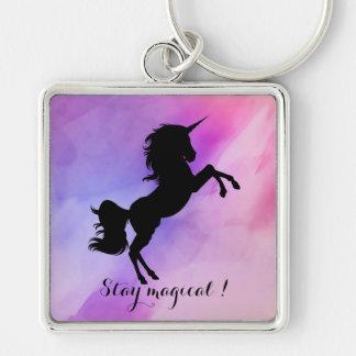 Unicorn designed Colofull keychain