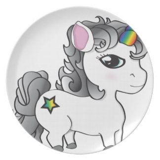 Unicorn Dinner Plates