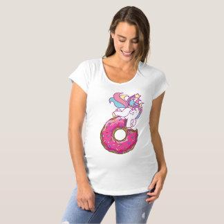 unicorn & donut maternity T-Shirt