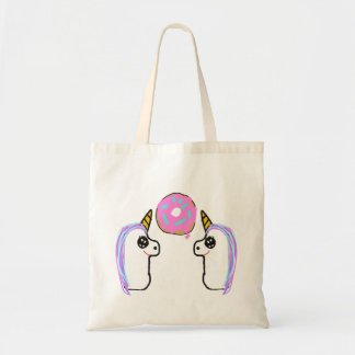 Unicorn Donut REUSABLE Tote Bag