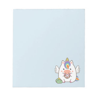 Unicorn & Donuts Notepad