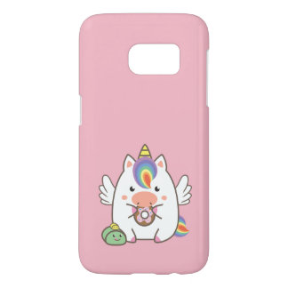 Unicorn & Donuts Samsung Galaxy S7 Case