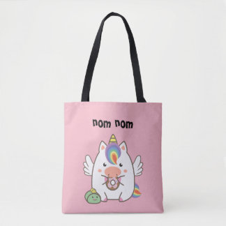 Unicorn & Donuts Tote Bag