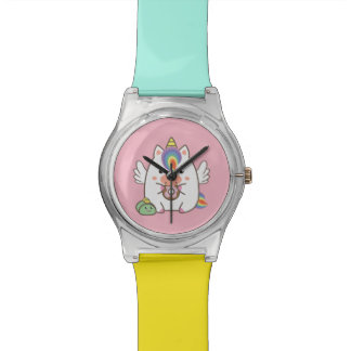 Unicorn & Donuts Watch