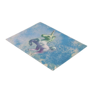 Unicorn Door Mat (Blue Arctic)