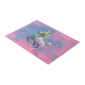 Unicorn Door Mat (Cupcake Pink)