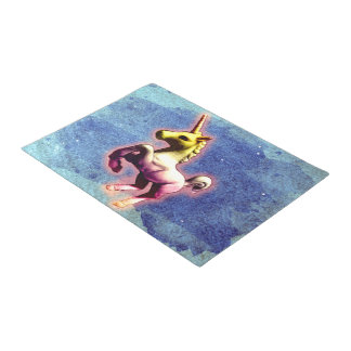 Unicorn Door Mat (Galaxy Shimmer)