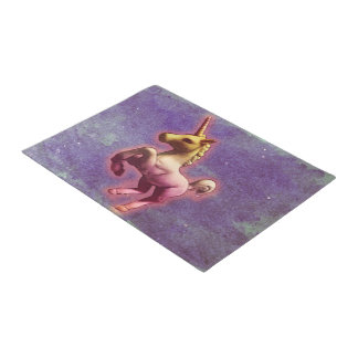 Unicorn Door Mat (Purple Mist)