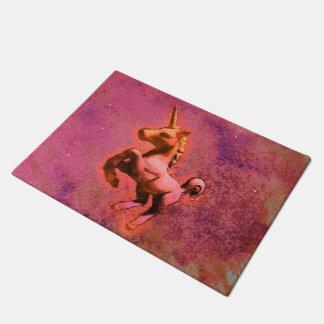 Unicorn Door Mat (Red Intensity)