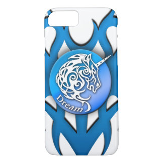 Unicorn (Dream) blue iPhone 7 Case