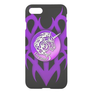 Unicorn (Dream) purple iPhone 7 Case