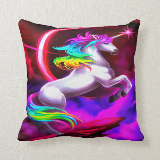 Unicorn Dream Throw Pillow