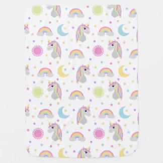Unicorn Dreams Baby Blanket