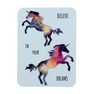 Unicorn Dreams Photo Magnet
