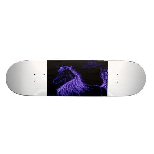 unicorn dreams skate board decks