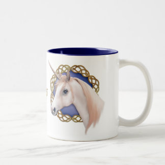 Unicorn Dreams Two-Tone Coffee Mug