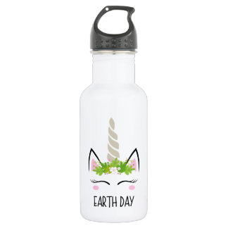Unicorn Earth Day 532 Ml Water Bottle