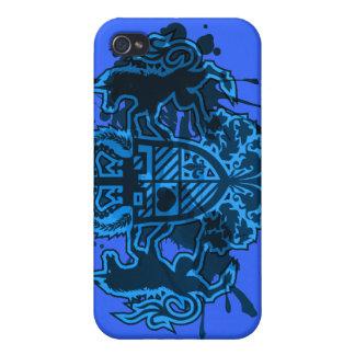 Unicorn_Emblem iPhone 4/4S Covers