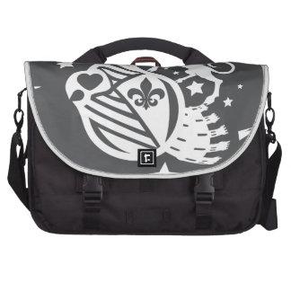 Unicorn_Emblem Laptop Commuter Bag