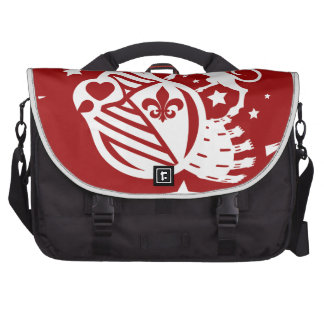 Unicorn_Emblem Laptop Messenger Bag