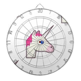 unicorn emoji dartboard