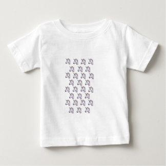 Unicorn Emoji in Glitter Baby T-Shirt