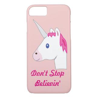 Unicorn emoji iPhone 7 case