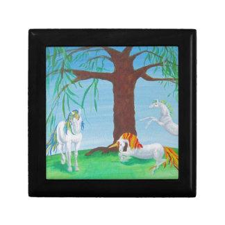 Unicorn Family Keepsake Box