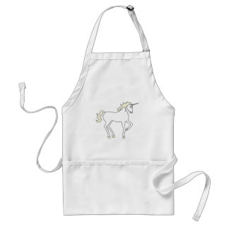 Unicorn Fantasy Creature Mythical Animal Whimsical Standard Apron