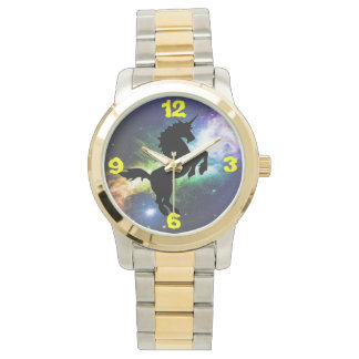 Unicorn fantasy design custom watches