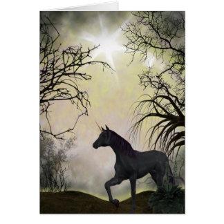 Unicorn Fantasy Greeting Card