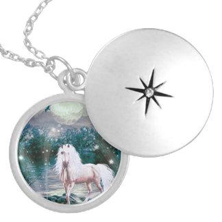 Unicorn Fantasy Locket Necklace