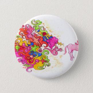 Unicorn Fart 2 Inch Round Button