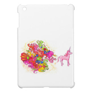 Unicorn Fart iPad Mini Cover