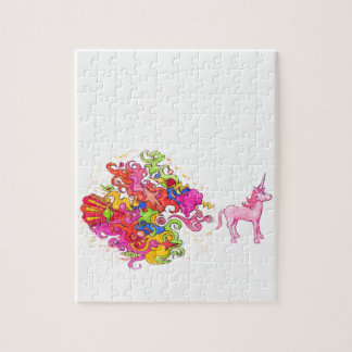 Unicorn Fart Jigsaw Puzzle