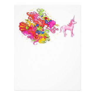Unicorn Fart Letterhead