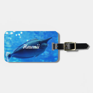 Unicorn Fish Luggage Tag