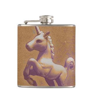 Unicorn Flask Vinyl Wrapped (Metal Lavender)