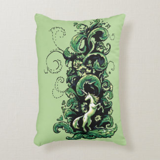 Unicorn Flourish Decorative Pillow