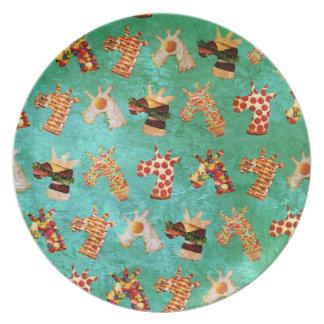Unicorn Food Plate