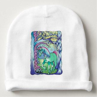 Unicorn Forest Baby Beanie