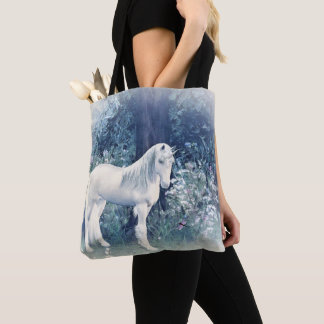 Unicorn  forest dream tote bag