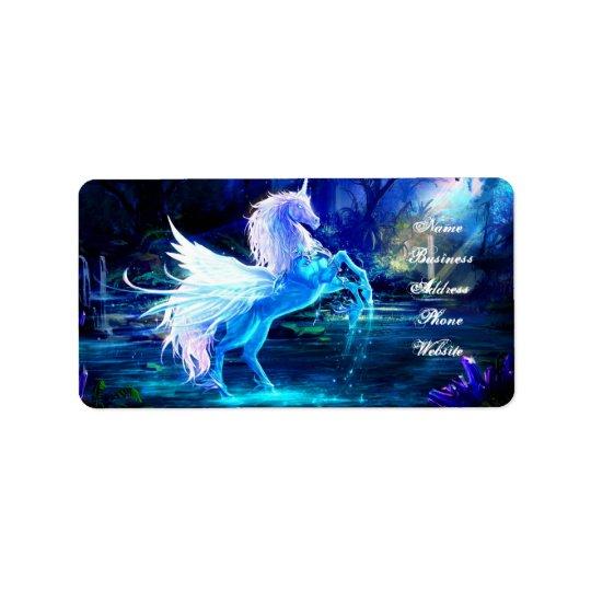 Unicorn Forest Stars Cristal Blue