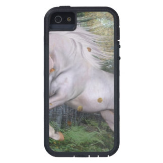 Unicorn Forest Stars Cristal Blue iPhone 5 Covers