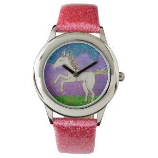 Unicorn Frollicking Watch