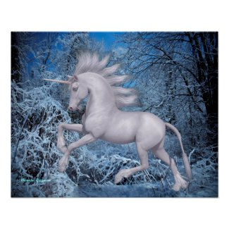 Unicorn from winter poster